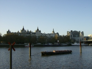 london tames river